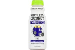Harmless Harvest Probiotics with Blueberries & Acai