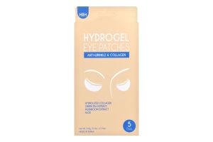 Патчі для зони під очима гідрогелеві Anti-Wrinkle&Collagen Hanwoong 5пар