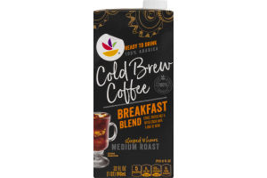 Ahold Cold Brew Coffee Medium Roast Breakfast Blend
