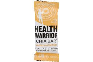Health Warrior Chia Bar Vanilla Almond