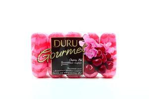 Мыло туалетное увлажняющее Вишня Gourmet Duru 5х75г