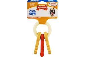 Nylabone Play 'N' Chew Dog Toy Bacon Flavor