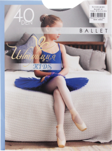 Колготки детские Интуиция Ballet 40 black р128-134