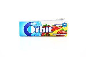 Резинка жевательная без сахара Клубника-банан Orbit м/у 14г