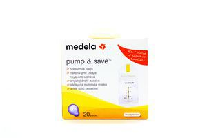 Пакети Medela для заморожування молока 20шт