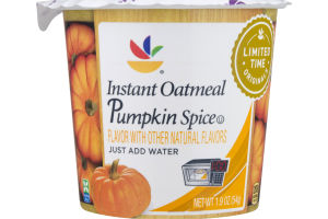 Ahold Instant Oatmeal Pumpkin Spice