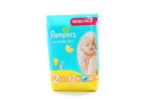 Подгузники Pampers Micro Pack New Baby Mini (2) 3-6кг 17шт