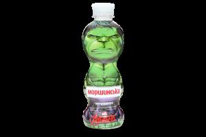 Вода минеральная негазированная Marvel Avengers Моршинська п/бут 0.33л