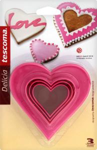 Н-р форм Tescoma Delicia сердечки двухст.6шт630862