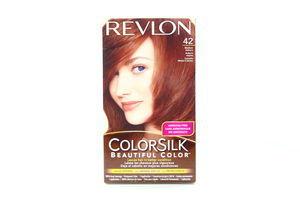 Краска д/волос ColorSilk 42 Сер.рыжий Revlon