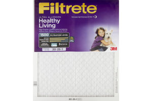 3M Filtrete Air Filter Ultra Allergen Healthy Living