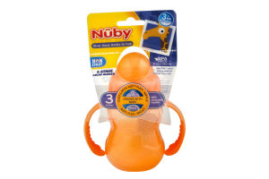 Nuby 3-Stage Grow Nurser Wide Neck Bottle to Cup 3m+