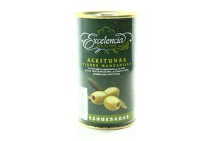 Оливки без косточек Excelencia ж/б 350г