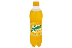 Напиток безалкогольный сильногазированный со вкусом ананаса Pineapple Mirinda п/бут 0.5л