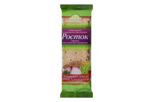 Хлебцы хрустящие из пророщенных зерен пшеницы с гречкой Росток м/у 120г