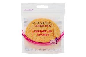 Спонжи косметические для снятия макияжа Cosmetics Suavipiel 2шт