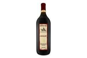 Вино 1.5л 11% червоне напівсолодке Алазанська долина Kartuli Vazi пл