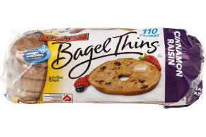 Thomas' Bagel Thins Cinnamon Raisin - 8 CT