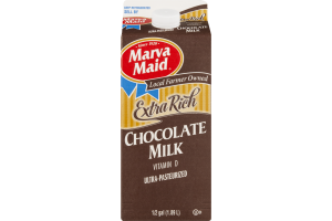 Marva Maid Extra Rich Chocolate Milk Vitamin D
