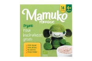 Крупа гречана органічна подрібнена Mamuko к/у 240г