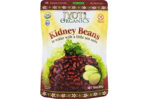 Jyoti Organics Kidney Beans in Water with a Little Sea Salt