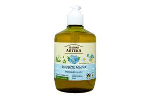 Мыло жидкое Ромашка Зеленая аптека 465мл