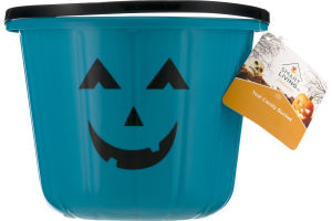 Smart Living Halloween Teal Candy Bucket