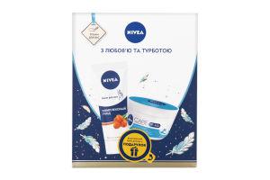 Набор крем для рук Комплексный уход 75мл+крем для лица увлажняющий 100мл Nivea 1шт