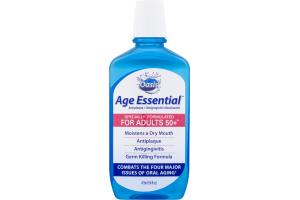 Oasis Age Essential Antiplaque/Antigingivitis Mouthwash