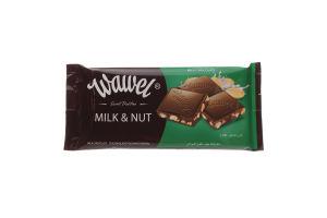 Шоколад молочный Wawel с арахисом