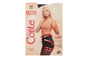 Колготки жіночі Conte X-press 40den №2 nero