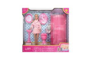 """Кукла """"Defa"""" в ванной комнате"""