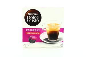 Кава Nescafe Dolce Gusto Espresso Decaffeinato 16*7г 112г