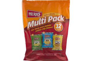 Herr's Multi Pack Potato Chips - 12 PK