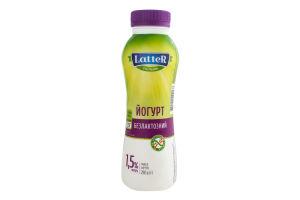 Йогурт 1.5% безлактозний Latter п/пл 290г