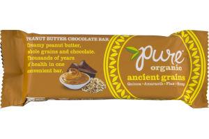Pure Organic Ancient Grains Peanut Butter Chocolate Bar