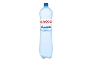 Вода минеральная сильногазированная природная лечебно-столовая гидрокарбонатная натриевая Квасовая п/бут 1.5л