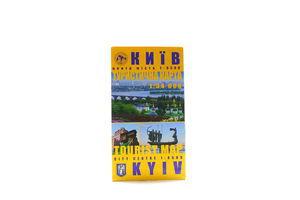 Книга Київ туристична карта 1:34000