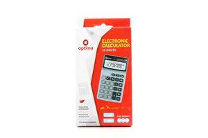 Калькулятор Optima електронний 10 розрядів 144х80х20мм