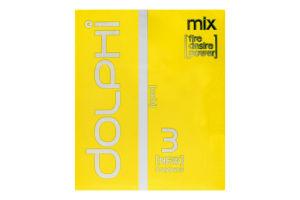 Презервативи анатомічні Mix Dolphi 3шт