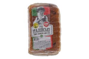 Хлібці з томатом, базиліком та цибулею Італійські Золотий дар м/у 330г