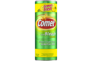 Comet With Bleach Cleanser Lemon Fresh