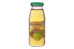 Сік яблучний освітлений без цукру Gerber 175мл