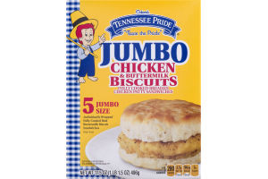 Odom's Tennessee Pride Chicken & Buttermilk Biscuits Jumbo Size - 5 CT