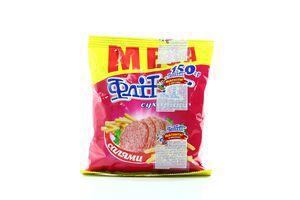 Сухарики со вкусом салями Flint м/у 150г