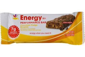 Ahold Energy Performance Bar Chocolate Fudge Brownie