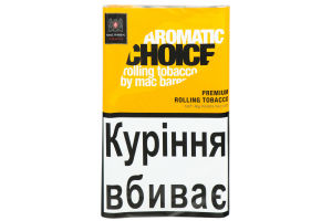 Табак сигаретный Aromatic Choice Mac Baren 40г