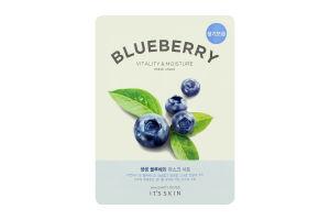 Маска для обличчя тканинна Blueberry It's Skin 21г