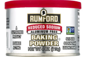 Rumford Reduced Sodium Aluminum Free Baking Powder
