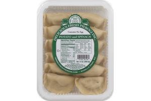 Delicious Fresh Pierogi Inc. Potato and Spinach